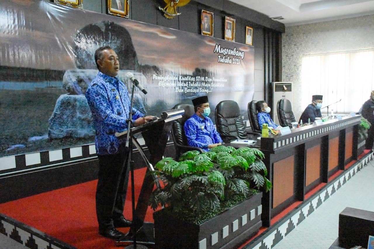 Gelar Musrenbang Pemkab Tubaba optimis dorong Percepatan Pembangunan di Lampung