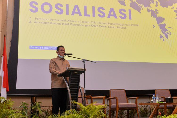 Gubernur Berharap FTZ di Bintan dan Karimun, Sama Seperti di Batam