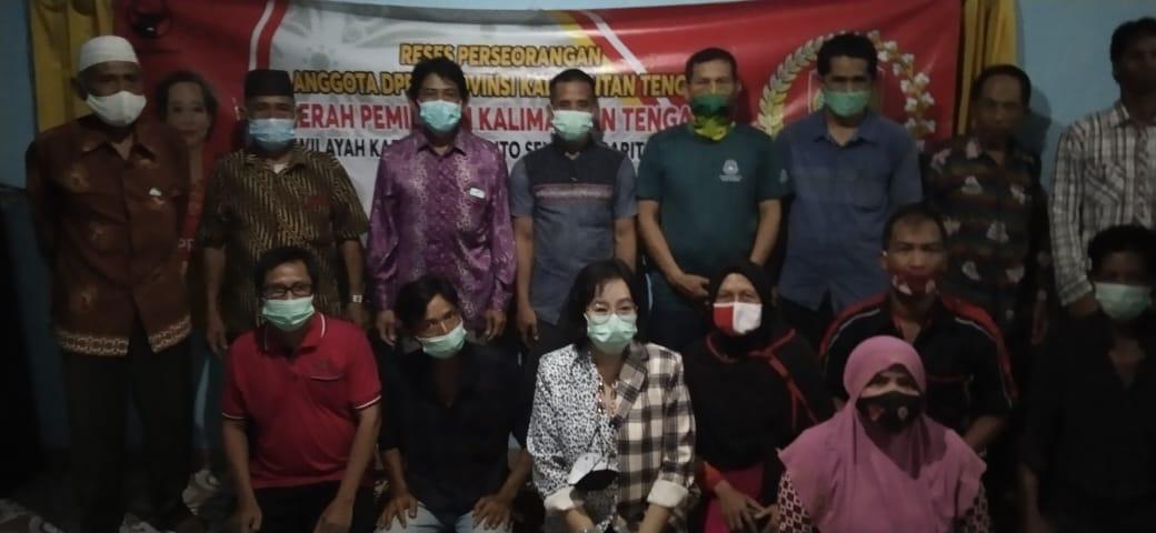 Reses Perseorangan Anggota DPRD Propinsi Kaliamantan Tengah
