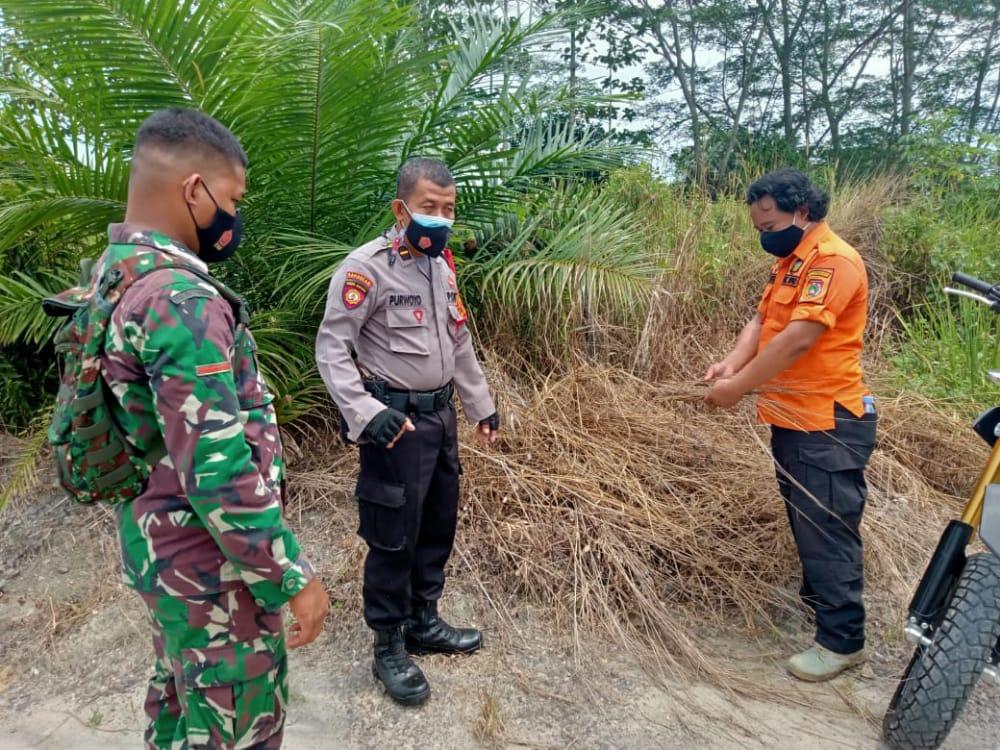 Satsabhara Bersama Unsur Terkait Rutin Laksanakan Rutin Patroli Karhutla