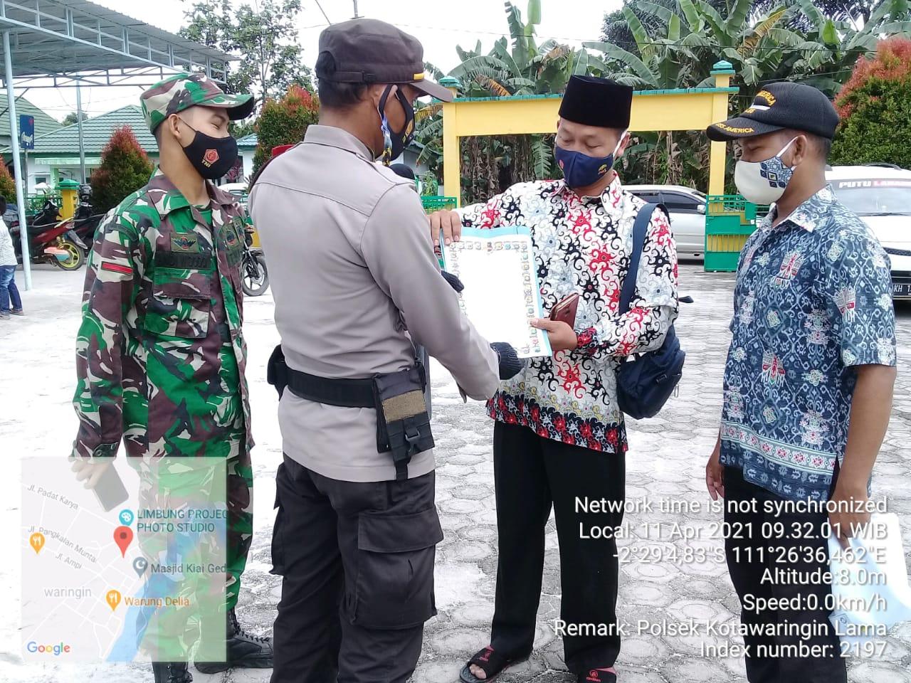 Polsek Kolam Cegah Karhutla di Wilayah Hukum Polsek Kotawaringin Lama