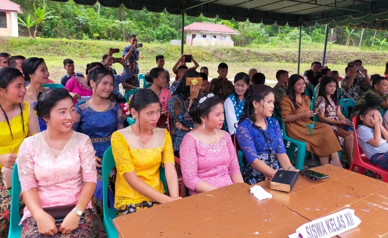 Pelepasan Dan Perpisahan Kelas Xll SMK Negeri 3 Lahewa,Di Hadiri Oleh Bupati Terpilih