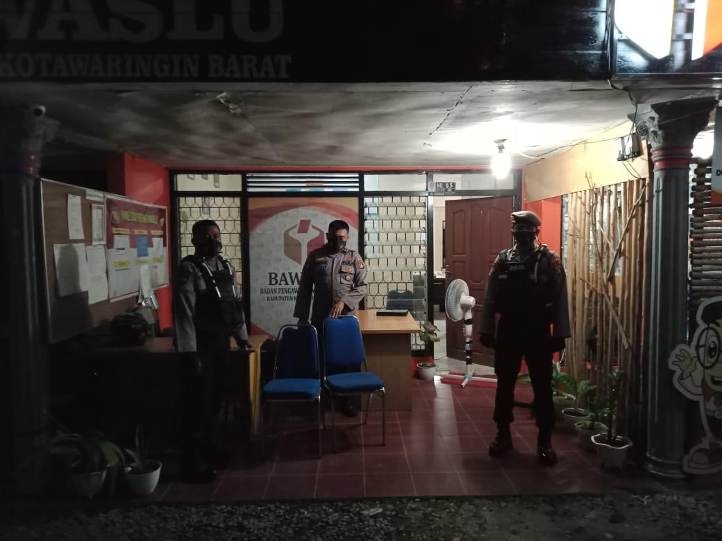 Luar Biasa, Patroli Team Rajawali Datangi Kantor Bawaslu Kobar