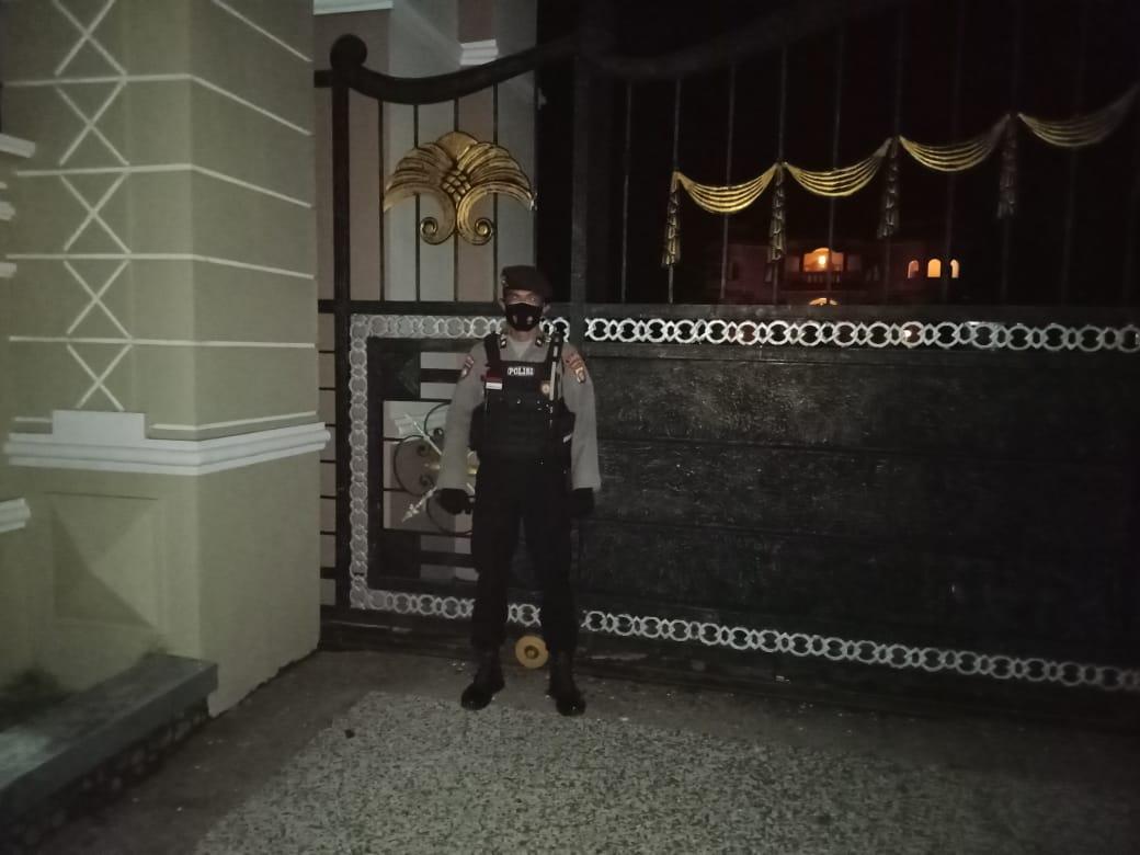 Rutin Rumah Calon Gubernur Kalteng dikunjungi Polisi