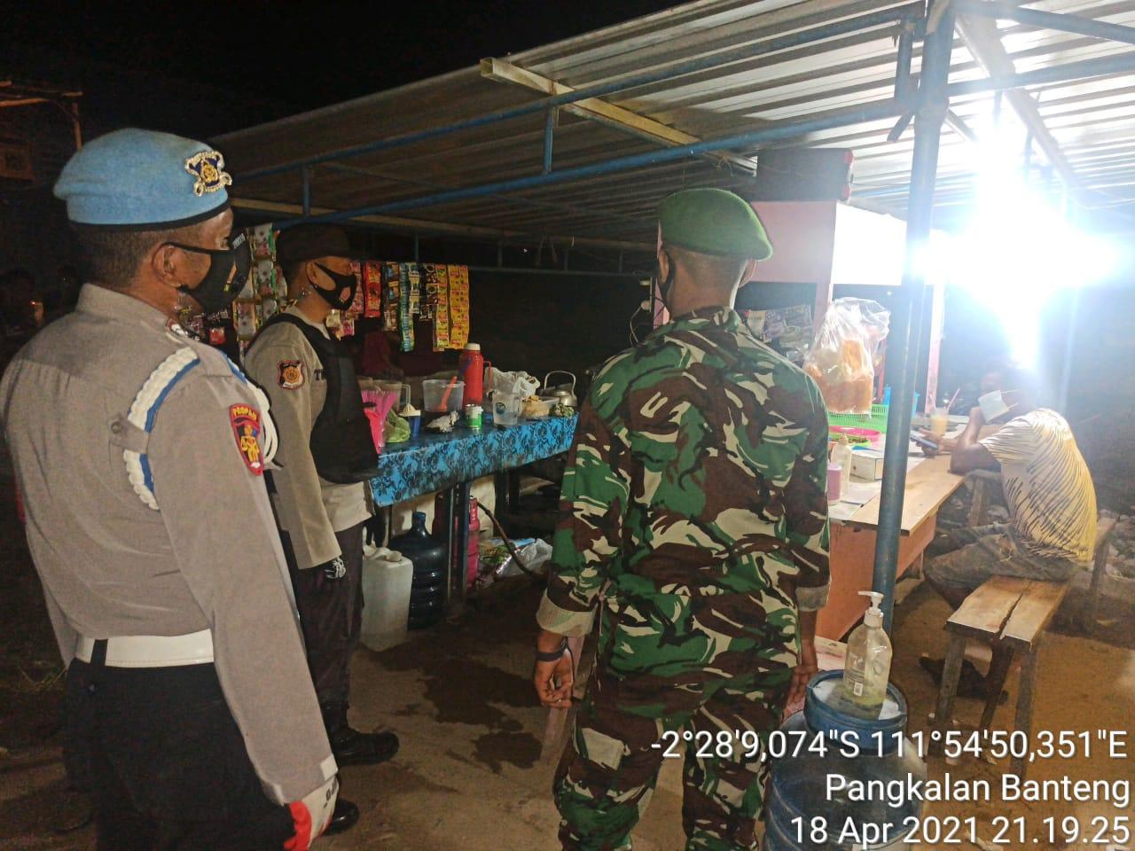 Trantib Kecamatan Laksanakan Yustisi malam hari