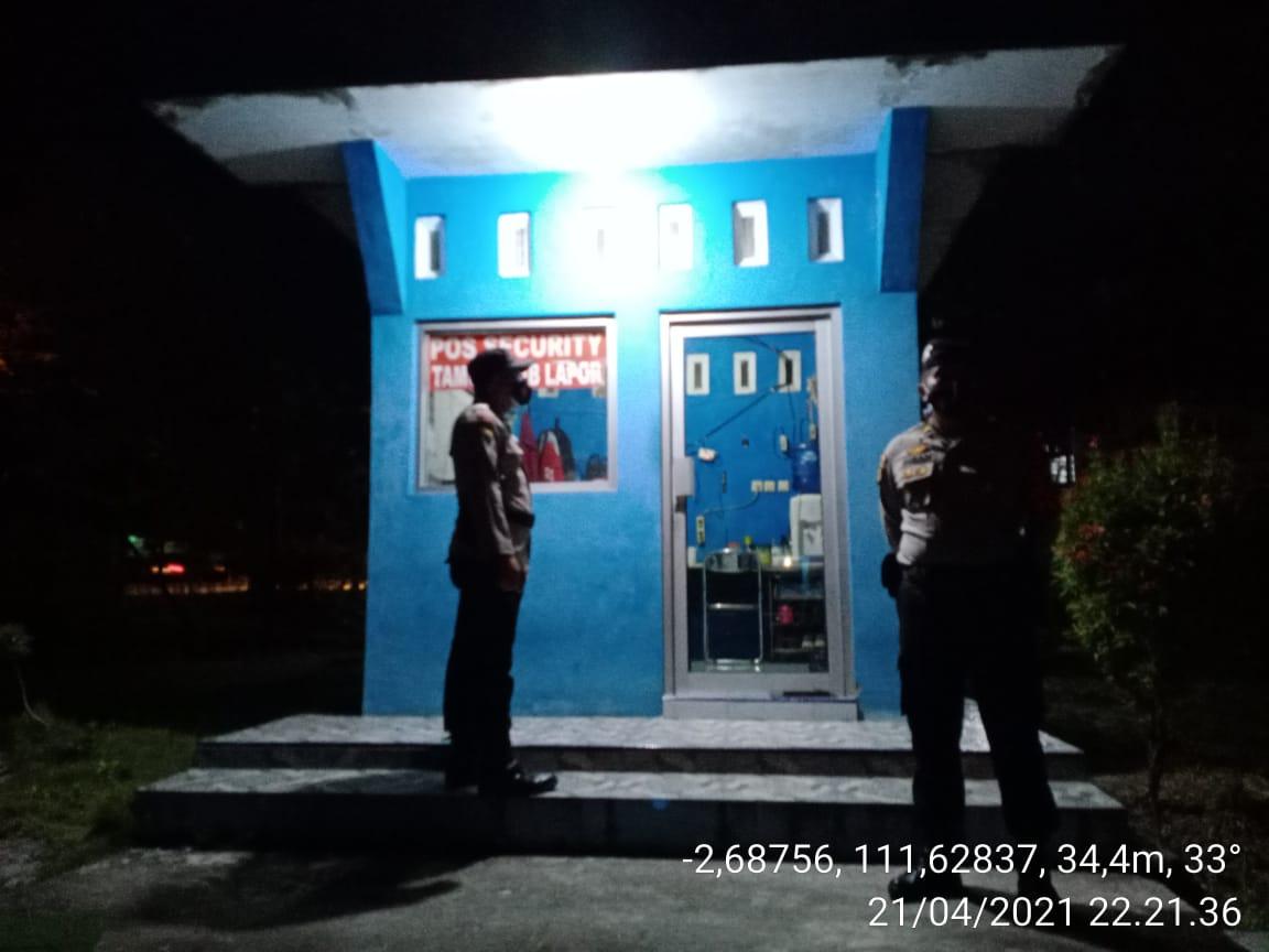 Polsek Arsel Rutin Patroli Ke Objek Vital Kantor PDAM Jl. Sultan Syahrir