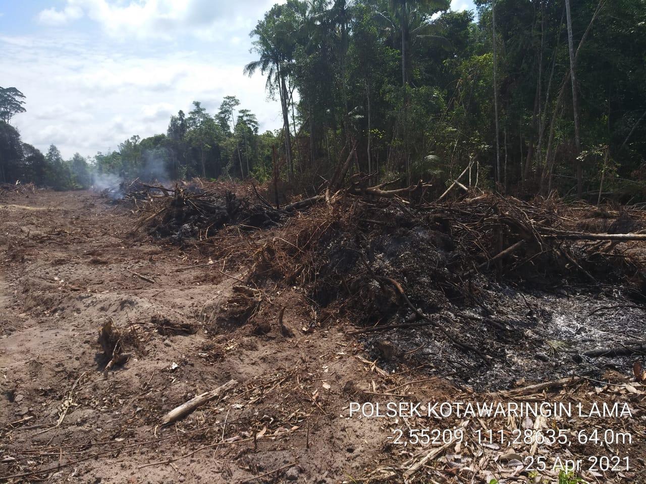 TNI Polri Minta Warga Jangan Bakar Hutan