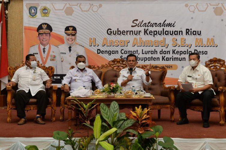 Gubernur Ansar Minta Dana Desa Dimanfaatkan Secara Efektif