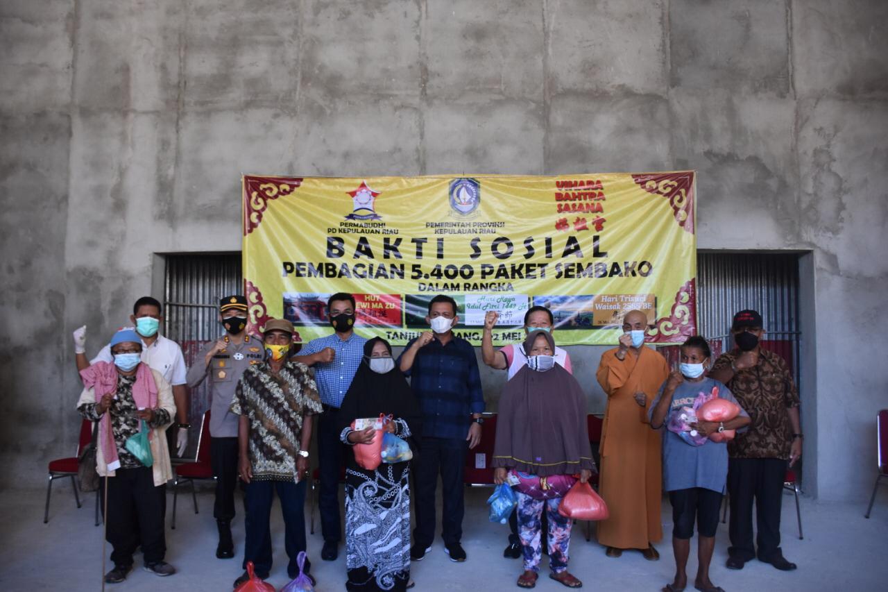5400 Paket Sembako dibagikan Jelang Idul Fitri