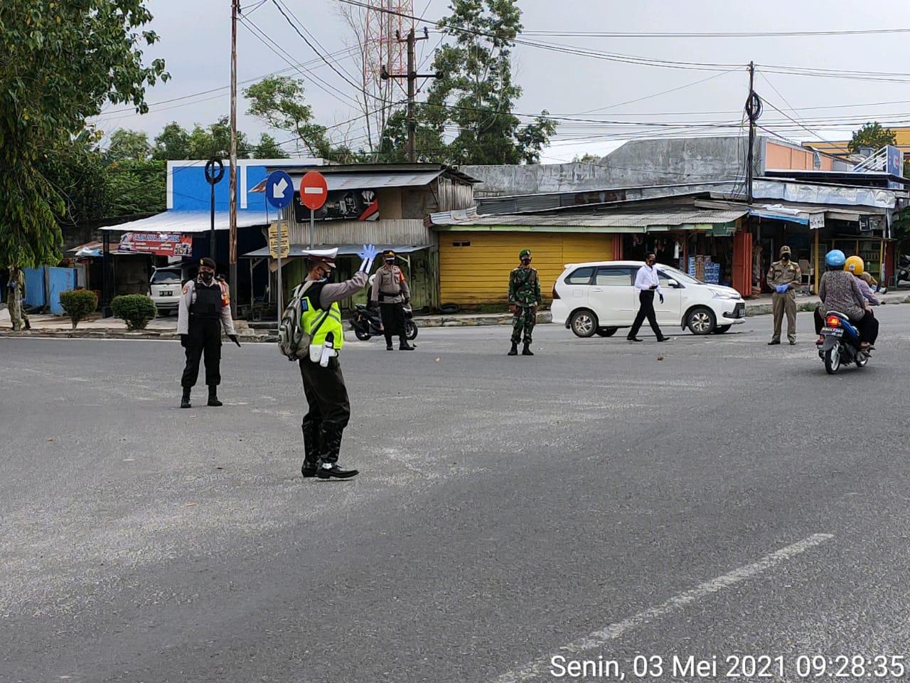 Operasi Yustisi Gabungan Gencar dilakukan oleh Polres Kobar