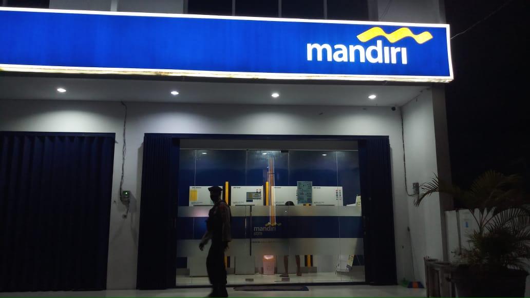 Polres Kobar Kunjungi Bank Mandiri Cabang Kobar