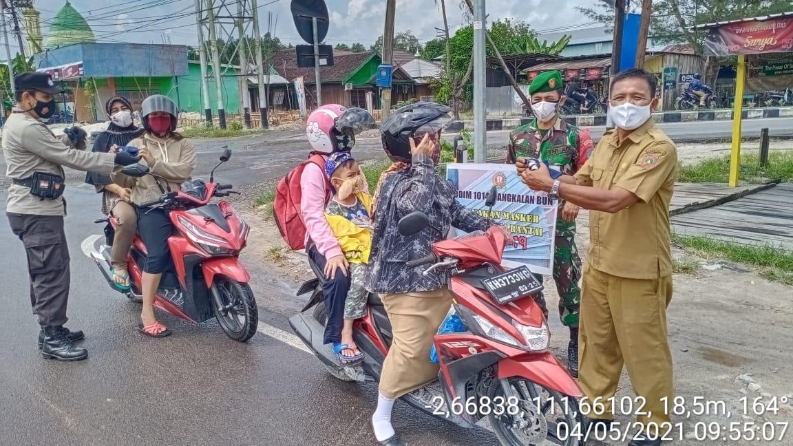 Operasi Yustisi Gabungan Gencar dilakukan Oleh Polisi dan TNI di Kobar
