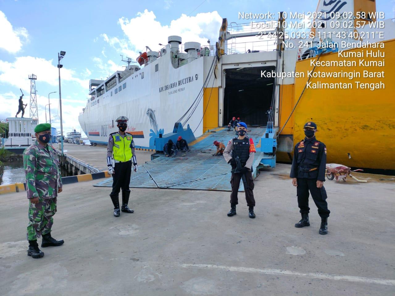 Pelabuhan Jadi di Kobar Jadi Sasaran Prokes Covid-19