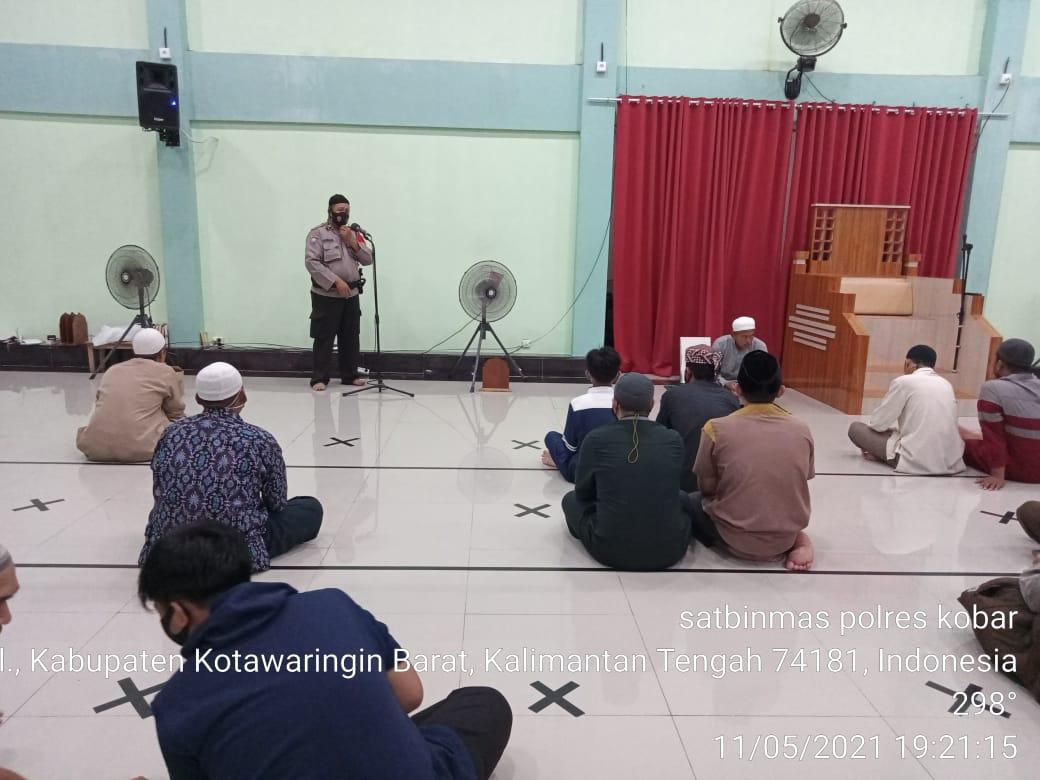 Masjid di Pangkalan Bun dijaga Polisi Kobar