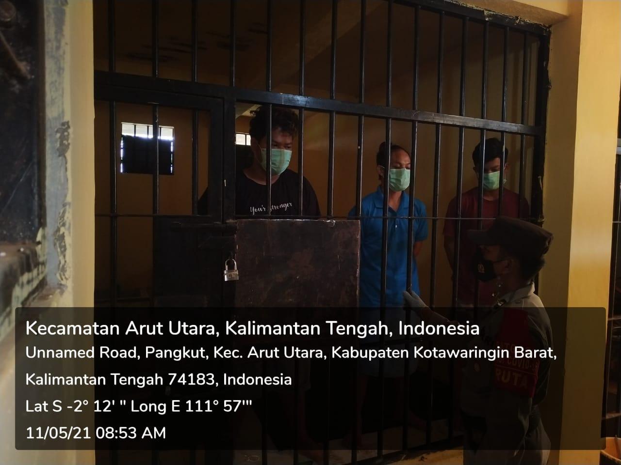 Ruang Tahanan Polres Kobar dijaga 2 Regu