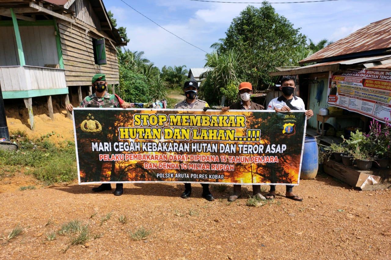 Tiga Pilar Kecamatan Aruta Ingatkan Warga Jangan Rusak Hutan