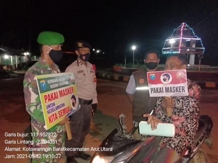 3 Pilar Ajak Warga Terapkan Prokes Covid-19 di Kotawaringin Barat