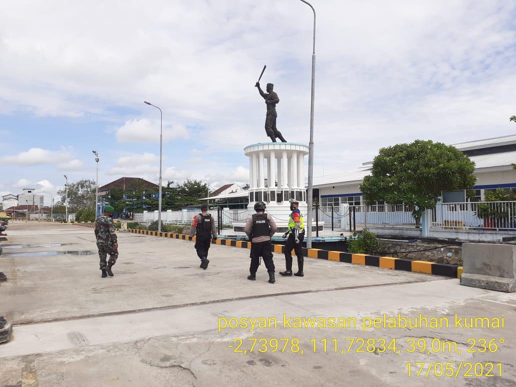 Pos Penyekatan Ops Ketupat Telabang Pelabuhan Panglima Utar