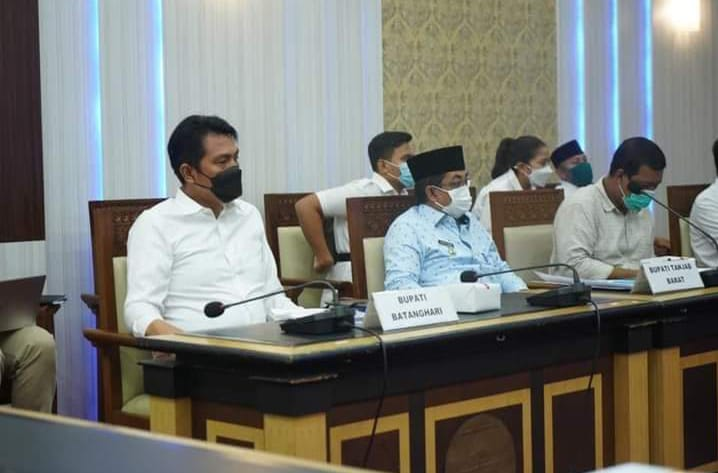 Bupati M.Fadhil Arief Hadiri Rapat Penyelesaian Batas Daerah 4 Kabupaten Provinsi Jambi
