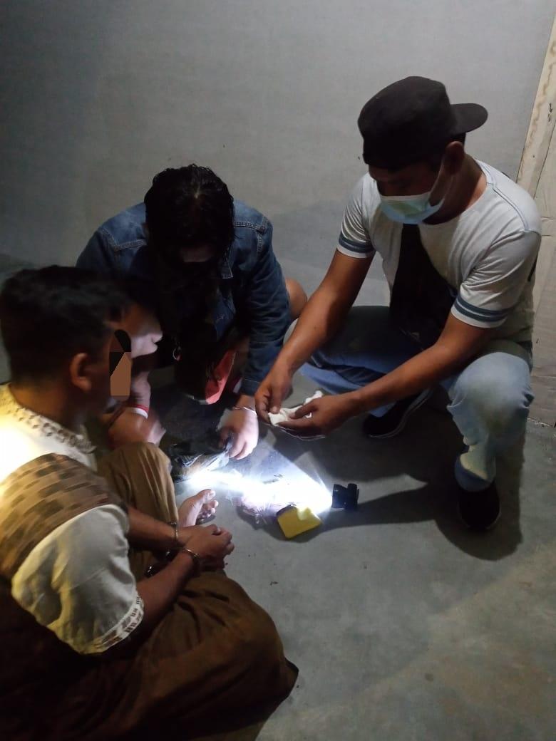 Lagi – Lagi Bandar Narkotika Jenis Sabu – Sabu Berhasil di Bekuk Satresnarkoba Polres Kobar