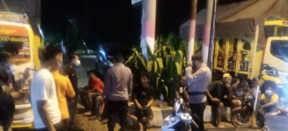Cegah kriminalitas, Tekab 308 Satreskrim Polres Lampung Utara laksanakan KRYD