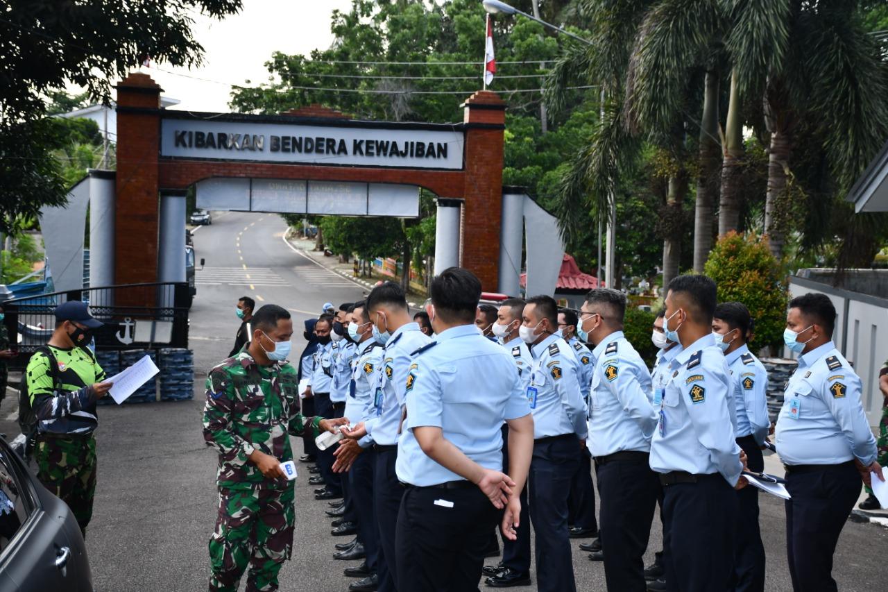 Lantamal IV Berikan Pelatihan Untuk Petugas Pemasyarakatan