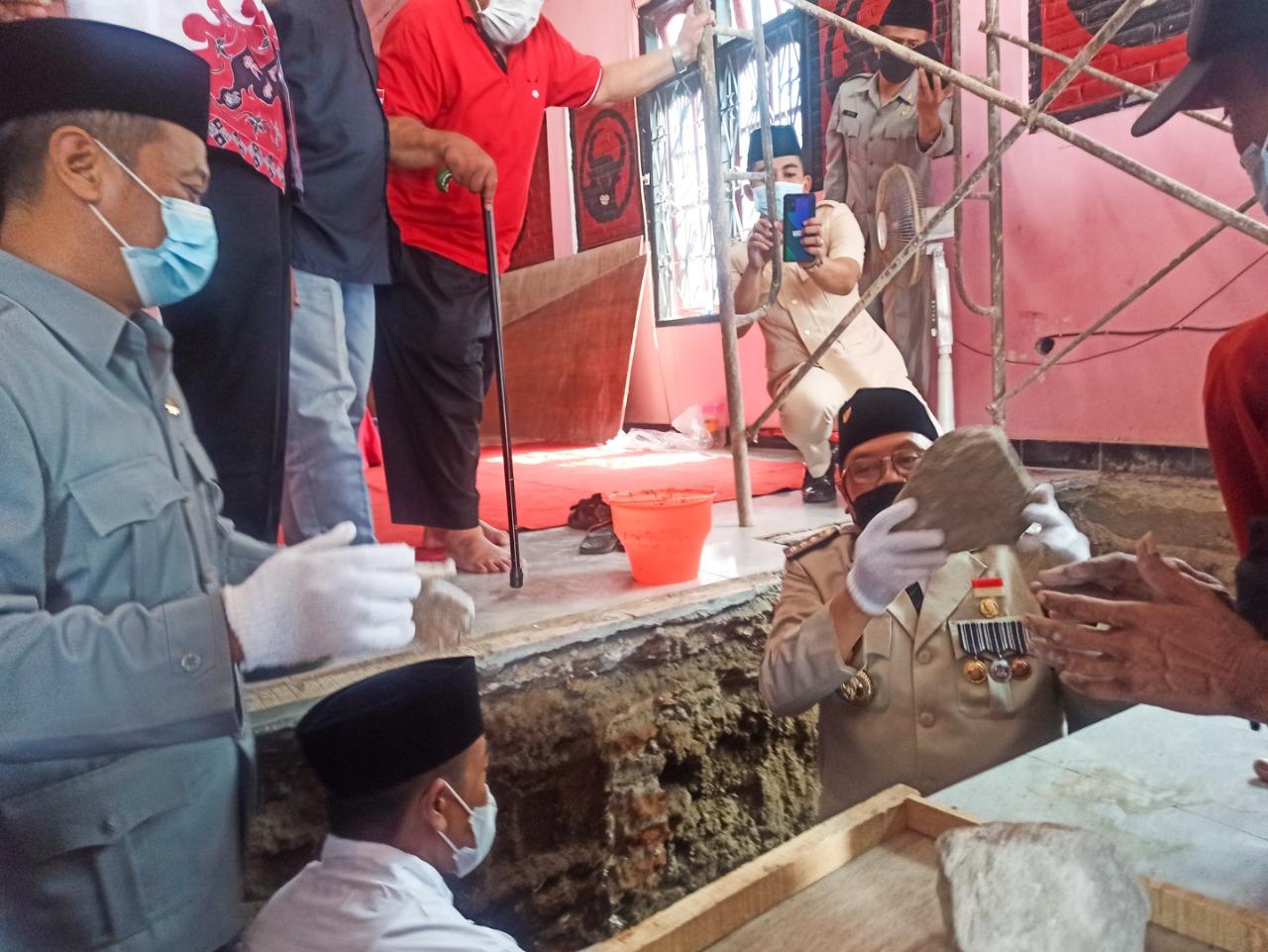 Semangat Hari Lahir Pancasila, DPC PDI Perjuangan Kota Blitar Bangun Kantor Baru 3 Lantai