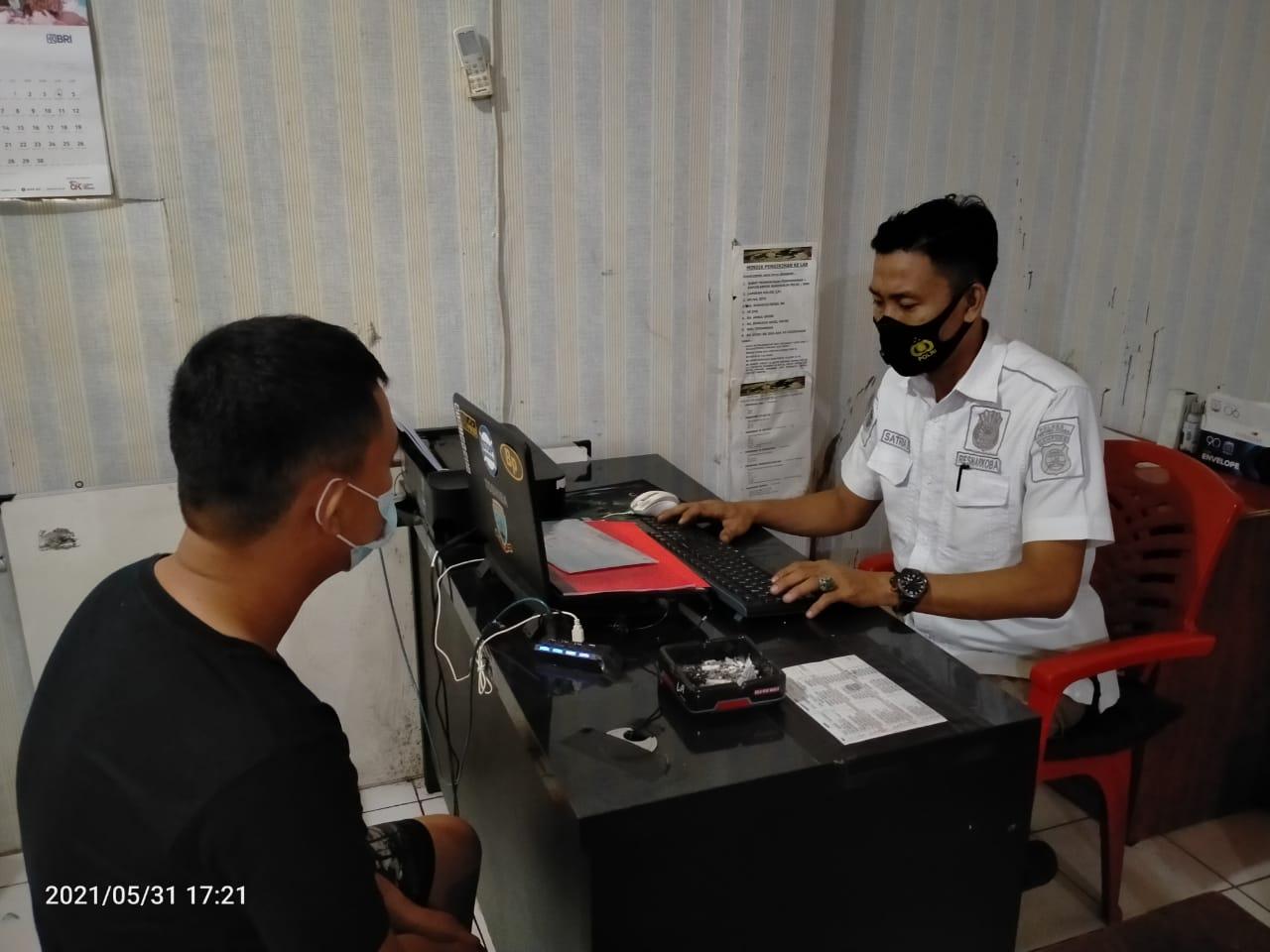 Tim Cobra Utara Satres Narkoba Polres Lampung Utara Amankan Oknum Satpol-PP