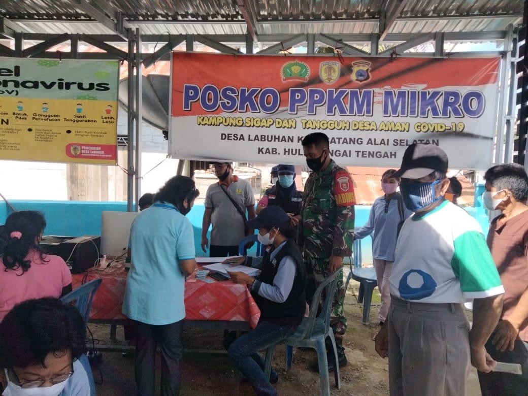 Calon Secaba PK TNI-AD TA. 2021 Kodim 1002/HST Melakukan Pengecekan Awal