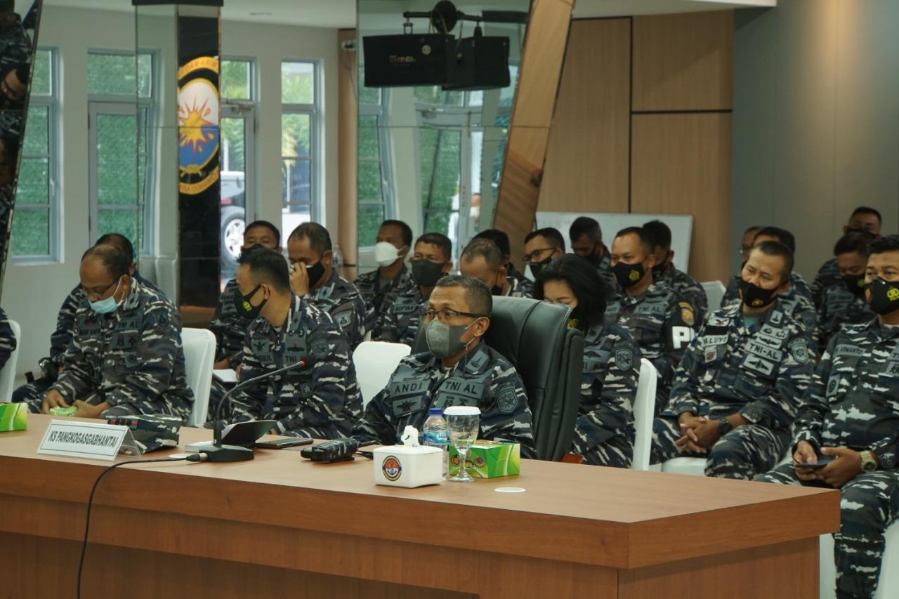 Latihan Armada Jaya Lantamal IV