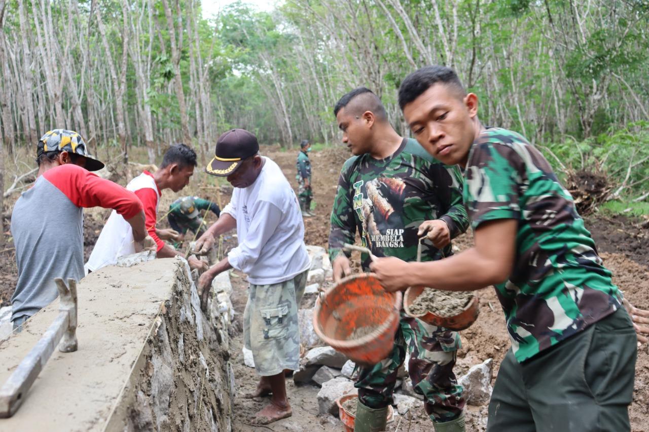Kehadiran TNI Diapresiasi Warga Suato Lama