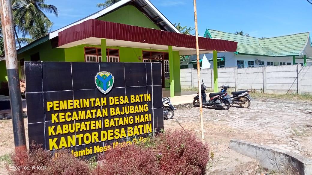 Desa Batin Kecamatan Bajubang Siap Melaksanakan Pilkades tahun 2021