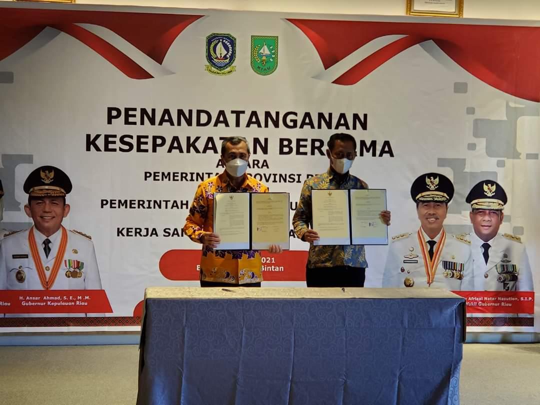 Kepri-Riau Jalin Kerjasama Pembangunan