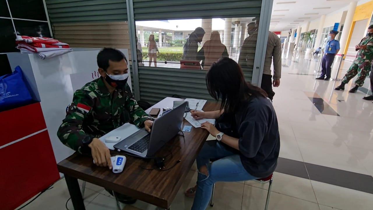 LANUD RHF Tanjungpinang Gelar Vaksinasi Massal di Bandara RHF Tanjungpinang