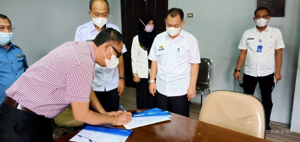 Hari Ini Jabatan Sekretaris DPRD Lampung Utara di Serah Terimakan