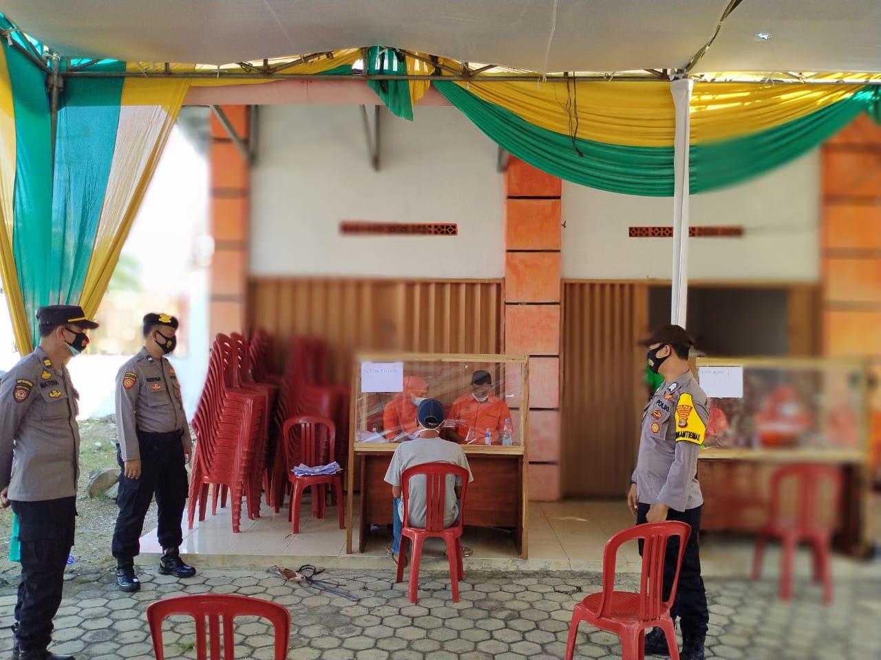Selain Kawal Penyaluran BST, Polres Lampura Himbau Warga Tetap Patuhi Protkes