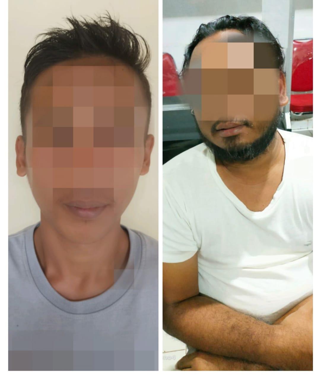 Tim Resmob 308 Satreskrim Polres Lampura Bekuk Dua Orang Terduga Pelaku Curat