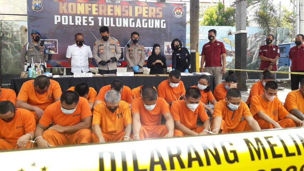 Di Kota Marmer, Sehari 2 Pengedar Narkoba Ditangkap
