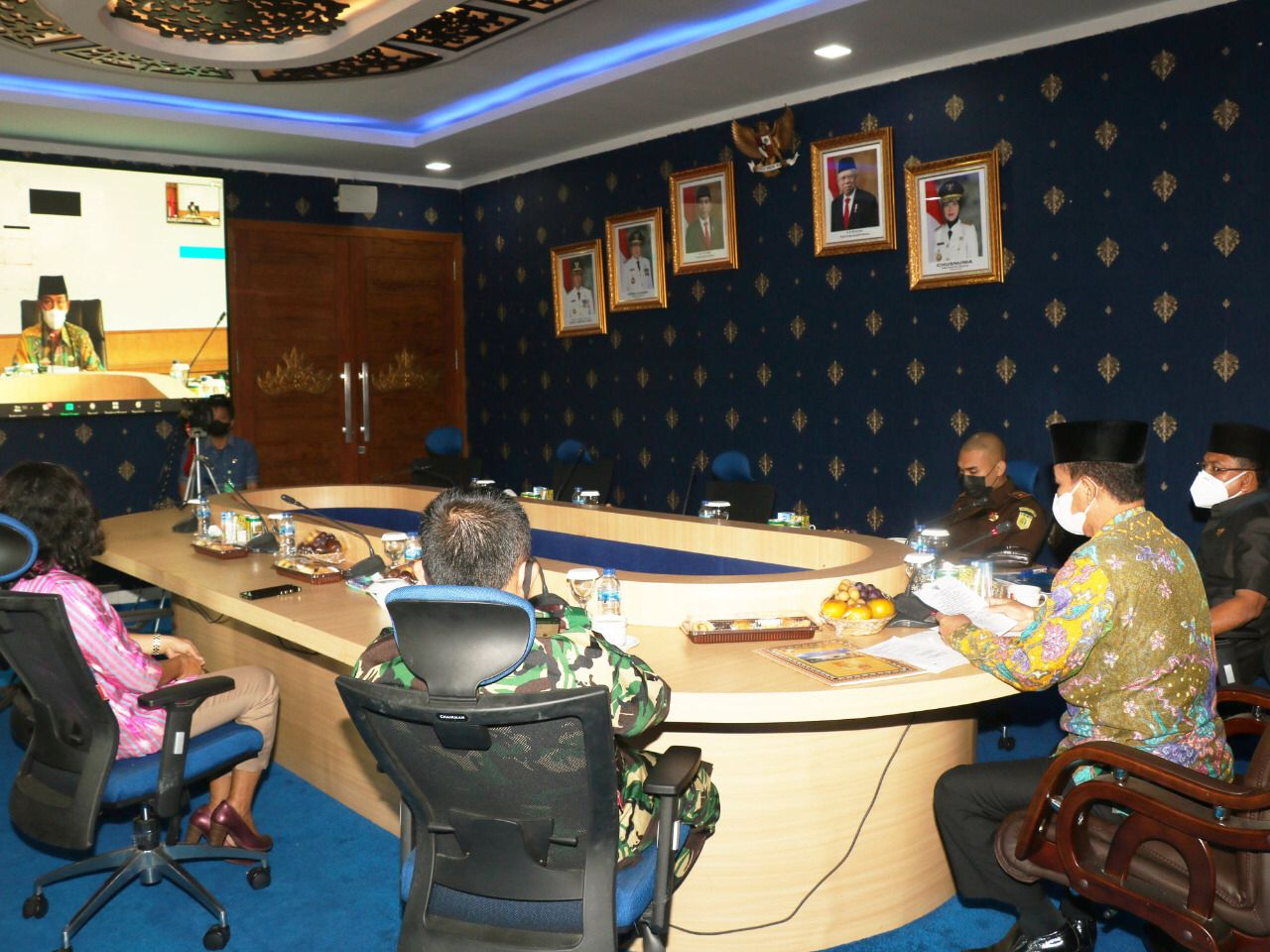 Musrenbang Perubahan RPJMD Kabupaten Lampung Utara Tahun 2019-2024 Gelar Secara Virtual