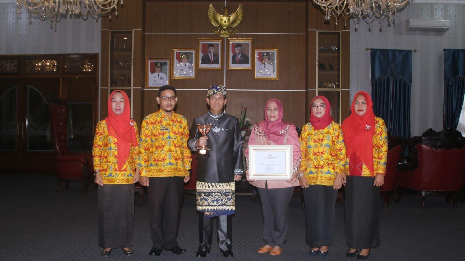 Kabupaten Lampung Utara Raih Penghargaan APE Kategori Pratama dari Kementerian PPPA RI